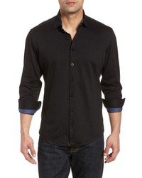 Stone Rose Flame Contemporary Fit Sport Shirt