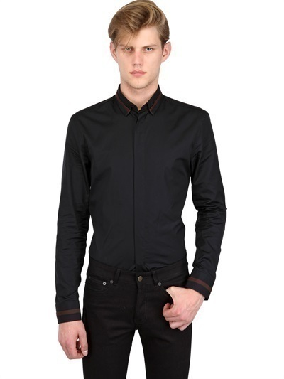 Givenchy Slim Fit Cotton Poplin Shirt