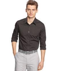 Calvin Klein Infinite Cool Non Iron Micro Checked Shirt