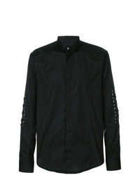 Les Hommes Lace Long Sleeve Shirt