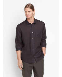 Vince Linen Button Up