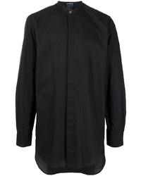 Ann Demeulemeester Longline Mandarin Collar Shirt
