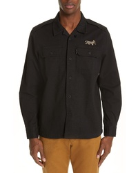 Ovadia & Sons Military Woven Shirt