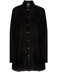 Ann Demeulemeester Oversized Semi Sheer Shirt