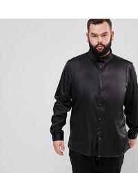 6d8beb540 Men's Black Long Sleeve Shirts by ASOS DESIGN | Men's Fashion ...