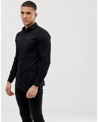 Jack & Jones Premium Stretch Shirt In Slim Fit