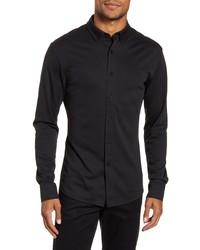 Vince Camuto Slim Fit Pique Knit Shirt