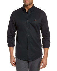 Nordstrom Men's Shop Smartcare Traditional Fit Twill Boat Shirt