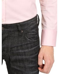 DSquared Stretch Cotton Poplin Dean Dan Shirt