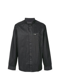 John Varvatos Zip Detail Fitted Shirt