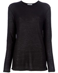 Alexander Wang T By Long Sleeved T Shirt