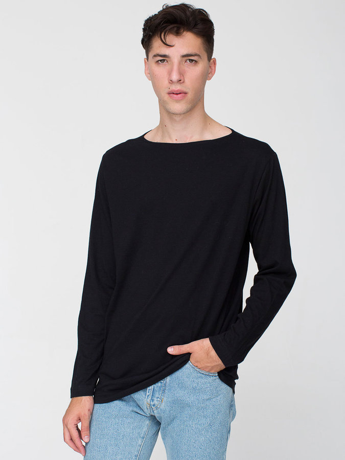 american apparel t shirt manche longue