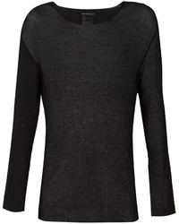 Ann Demeulemeester Sheer Long Sleeve T Shirt