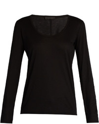 The Row Baxerton Long Sleeved T Shirt