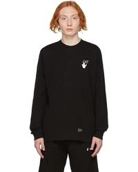 Off-White Black Caravaggio Arrows Long Sleeve T Shirt