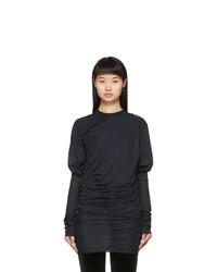 Y/Project Black Condom Sweatshirt