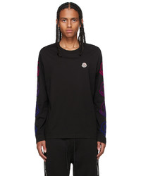 Moncler Black Crewneck T Shirt