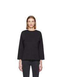 Totême Black Espera Long Sleeve T Shirt