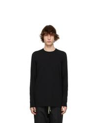 Rick Owens Black Level Long Sleeve T Shirt