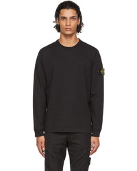 Stone Island Black Lightweight Long Sleeve T Shirt