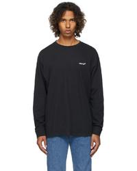 Levi's Black Logo Long Sleeve T Shirt
