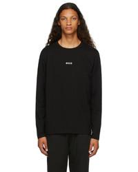 BOSS Black Logo Long Sleeve T Shirt