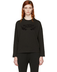 Dsquared2 Black Long Sleeve Logo T Shirt