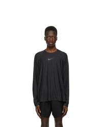 Nike Black Long Sleeve Pro T Shirt