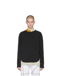A-Cold-Wall* Black Overlock Long Sleeve T Shirt