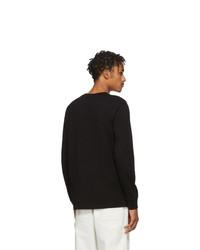 CARHARTT WORK IN PROGRESS Black Pocket Long Sleeve T Shirt