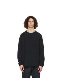 Nike Black Sportswear Tech Pack Long Sleeve T Shirt