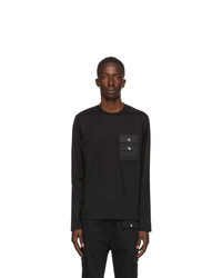 Diesel Black Task Long Sleeve T Shirt