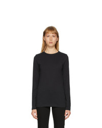 Rag and Bone Black The Long Sleeve T Shirt