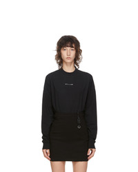 1017 Alyx 9Sm Black Visual Logo Long Sleeve T Shirt