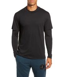 Nike Breathe Rise 365 Layered Long Sleeve T Shirt