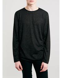 Topman Bronze Long Sleeve T Shirt