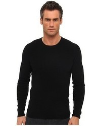 Vince Cashmere Blend Thermal Crew Neck T Shir