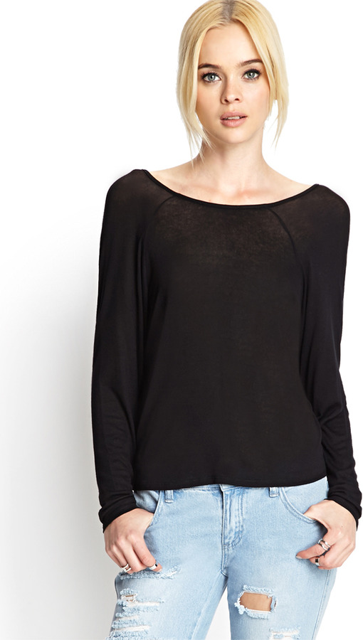 Forever 21 Cowl Back Knit Top Where To Buy How To Wear