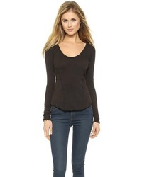 Free People Cozy Jane Long Sleeve Tee