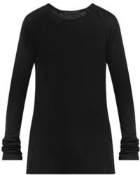 Haider Ackermann Fugazi Ribbed Jersey T Shirt