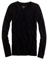 J.Crew Petite Vintage Cotton Long Sleeve T Shirt