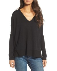 Rag & Bone Jean Double Vee Long Sleeve Tee