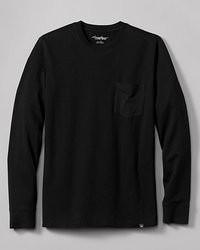 Eddie Bauer Legend Wash Long Sleeve Pocket T Shirt Classic Fit