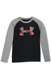 Under Armour Little Boys Big Logo Raglan Sleeve T Shirt