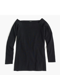 J.Crew Long Sleeve Off The Shoulder T Shirt