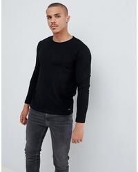 Esprit Long Sleeve Top In Black