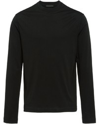 Prada Long Sleeved Jersey T Shirt