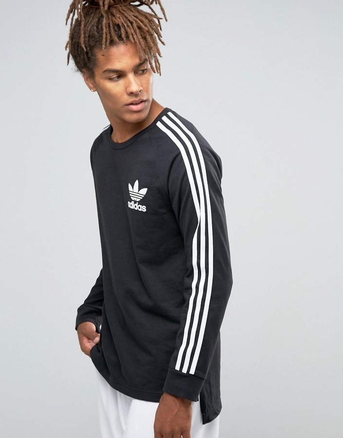 adidas originals long sleeve shirt