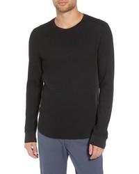Vince Regular Fit Waffle Knit T Shirt