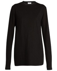 Raey Ry Long Sleeved Cotton Jersey T Shirt